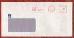 Brief, Pitney Bowes E70-2071, ZF Getriebe, 100 Pfg, Friedrichshafen 1991 (73214) - BRD