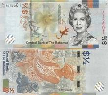 BAHAMAS 1/2 Dollars 50 Cents 2018 (2019) P New UNC - Bahamas