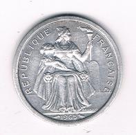 1 FRANC 1965 POLYNESIE /3830/ - Tahiti