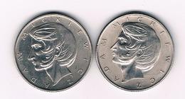 10 ZLOTY 1975+1976 POLEN /3832/ - Pologne