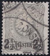 Deutsches  Reich   Turkei     .   Michel    .     5      .       O       Gebraucht - Offices: Turkish Empire