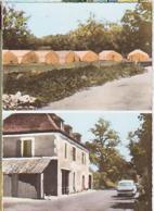 Liourdes   H234        ( 2 Vues )  Le Camp De Vacances Et Route De Beaulieu - France