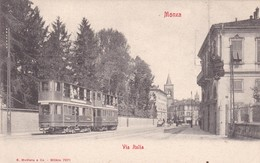 MONZA. VIA  ITALIA. G MODIANO E CO. CPA CIRCA 1900 TBE - BLEUP - Monza