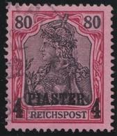 Deutsches  Reich   Turkei     .   Michel    .   19 I      .       O       Gebraucht - Offices: Turkish Empire