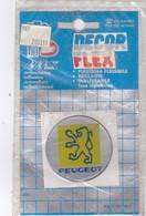 Sigle Peugeot Autocollant  - DECOR-FLEX -Made In Italie - Diamètre 5 Cm .dans Sa Pochette D'origine) - Transport