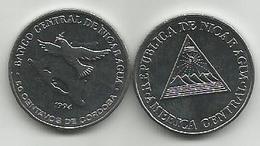 Nicaragua 50 Centavos 1994. KM#83 High Grade - Nicaragua