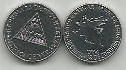 Nicaragua 10 Centavos 1994. KM#81 High Grade - Nicaragua
