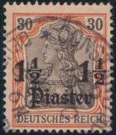 Deutsches  Reich   Turkei     .   Michel    .     28       .       O       Gebraucht - Deutsche Post In Der Türkei