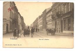TIRLEMONT  Rue De La Station (petite Coupure Milieu Bas ) Voir Scan - Tienen