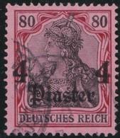 Deutsches  Reich   Turkei     .   Michel    .      43       .       O       Gebraucht - Deutsche Post In Der Türkei