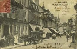 89 AUXERRE / HOTEL DE L'EPEE ET LA RUE DU TEMPLE / A 428 - Auxerre