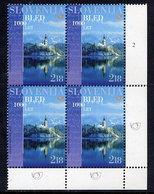 SLOVENIA 2004 Millenary Of Bled Block Of 4  MNH / **.  Michel 467 - Slovenia