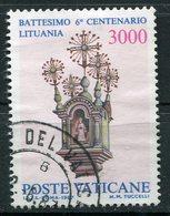 Vaticano - 1987 - Sass. 810 (o) - Vaticano (Ciudad Del)