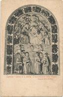 W2745 La Spezia - Chiesa Di Santa Maria - L'Incoronazione Della Vergine - Andrea Della Robbia / Viaggiata 1905 - La Spezia