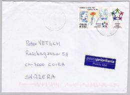 Brief In Die Schweiz (br5810) - 6. 1946-.. Repubblica