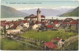 W2749 Cannobio (Verbania) - Lago Maggiore - Panorama Centrale / Non Viaggiata - Autres Villes