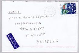 Brief In Die Schweiz (br5817) - 6. 1946-.. Repubblica
