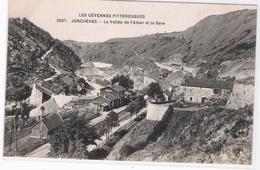 CPA - 43 - LES CEVENNES PITTORESQUE - JONCHERES - La Vallée De L'Allier Et La Gare - France