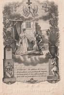 GEBOREN TE ZWEVEZEELE 1789+1840 JOSEPHINA STEVENS. - Religion & Esotérisme