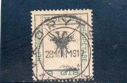 ALBANIE 1917 O - Albanie