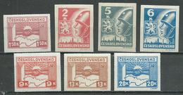 Tchécoslovaquie YT N°356/362 Neuf/charnière * - Unused Stamps