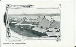 FALKLAND -PORT STANLEY And Part Of Harbour - Falkland