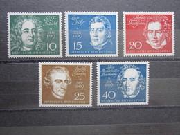 Bund  Mi 315 - 19 **  Einzelmarken Aus Block 2  , Postfrisch  ,  Einwandfrei - Ungebraucht