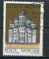 Vaticano - 1988 - Sass. 838 (o) - Vaticano (Ciudad Del)