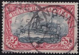 Deutsches  Reich  Ost Afrika     .   Michel    .   21  (2 Scans)      .       O       Gebraucht - Kolonie: Deutsch-Ostafrika