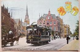 Nederland Rotterdam 1906 Tram Rip In W - Paesi Bassi