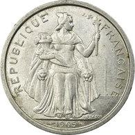 Monnaie, French Polynesia, 2 Francs, 1965, TTB+, Aluminium, KM:3 - Polynésie Française