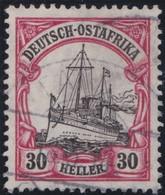 Deutsches  Reich  Ost Afrika     .   Michel    .     35      .       O       Gebraucht - Kolonie: Deutsch-Ostafrika