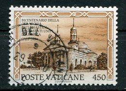 Vaticano - 1989 - Sass. 873 (o) - Vaticano (Ciudad Del)