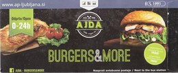 Slovenia / FlixBUS / Burgers & More / Transport, Bus, Food / Advertising - Publicités