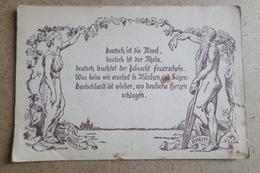 CARTE DE PROPAGANDE ALLEMANDE Ou Invitation à Un Congré - METZ - MOSELLE - RHIN - War 1939-45