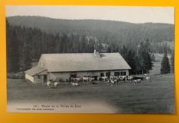 8581 - Chalet De La Vallée De Joux Vaches - VD Vaud