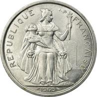 Monnaie, French Polynesia, 5 Francs, 1965, SUP, Aluminium, KM:4 - Polynésie Française