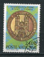 Vaticano - 1987 - Sass. 807 (o) - Vatican