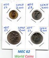 MEC 62 -PORTUGAL SERIE DE 1 - 5 - 2,50 - 5 - 25 ESCUDOS 1982 MUNDIAL DE HOQUEI 82 - T.000 - Portugal