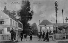 Rhode Saint-Genèse - Place De La Gare (top Animation, SBP N° 3, 1908) - St-Genesius-Rode