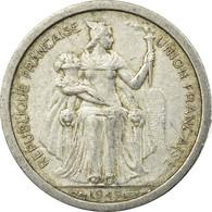 Monnaie, Nouvelle-Calédonie, Franc, 1949, Paris, TB+, Aluminium, KM:2 - New Caledonia