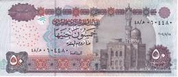 BILLETE DE EGIPTO DE 50 POUNDS DEL AÑO 2004 EN CALIDAD EBC (XF)  (BANKNOTE) - Egipto
