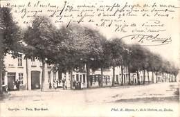 Kaprijke - Caprijke - Plein - Noordkant (phot. R Heysse, 1903, Animatie) - Kaprijke