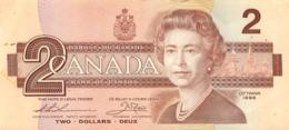BILLET CANADA  TWO DOLLARS - Kanada