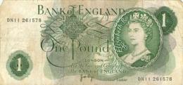 BILLET ONE POUND BANK OF ENGLAND - Royaume-Uni