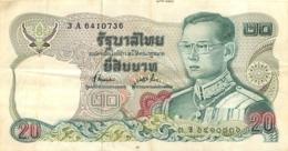 BILLET THAILANDE 20 - Thailand