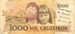 BILLET   BRESIL  1000 CRUZEIROS - Brasil