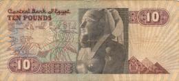 BILLET  EGYPTE  10 TEN POUNDS - Egypte