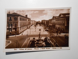 PUGLIA - BARI - PALAZZO DEL GOVERNO MONUM. A NICOLÒ PICCINNI PALAZZO DI CITTÀ Formato Piccolo - Viaggiata Nel 1941 - Con - Bari
