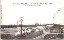 27 Usine Métallurgique De L'Zllier Près BRETEUIL - Breteuil